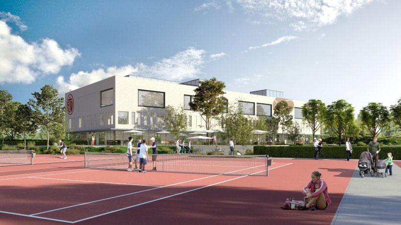 Naumann-Landschaft-Sportplatz-Hoheluft-Visualisierung-Tennis Naumann – Landschaft