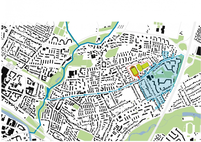 Naumann-Landschaft-Sportplatz-Moellner-Landstrasse-Schwarzplan Naumann – Landschaft